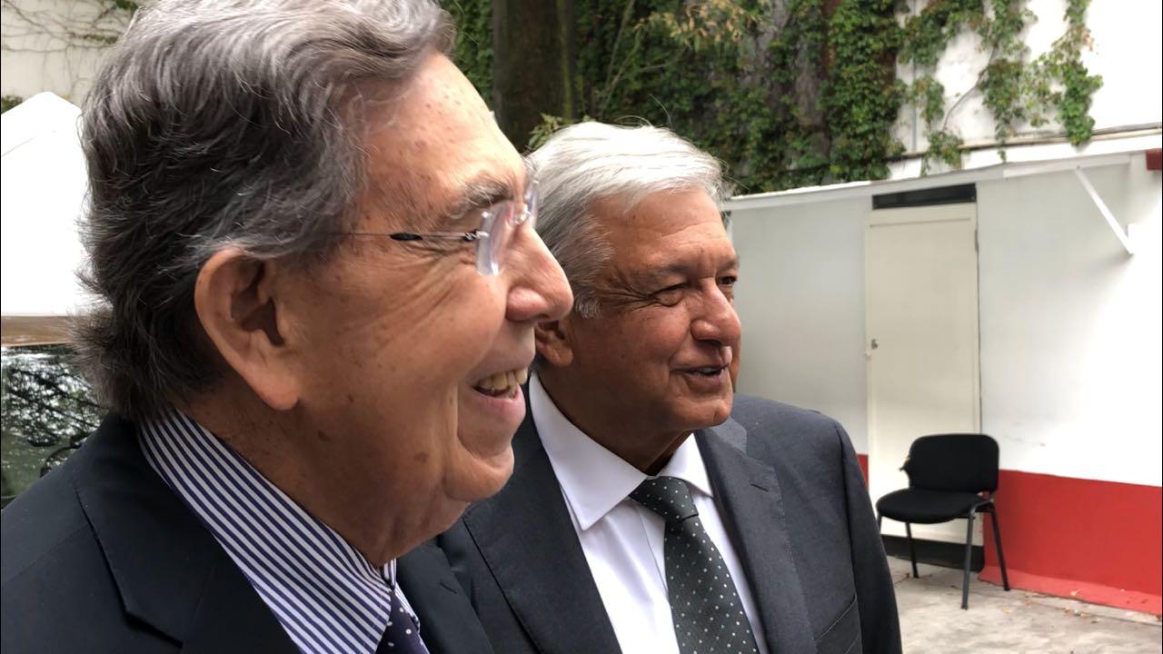 Se reúne AMLO con Cárdenas previo al encuentro con EPN