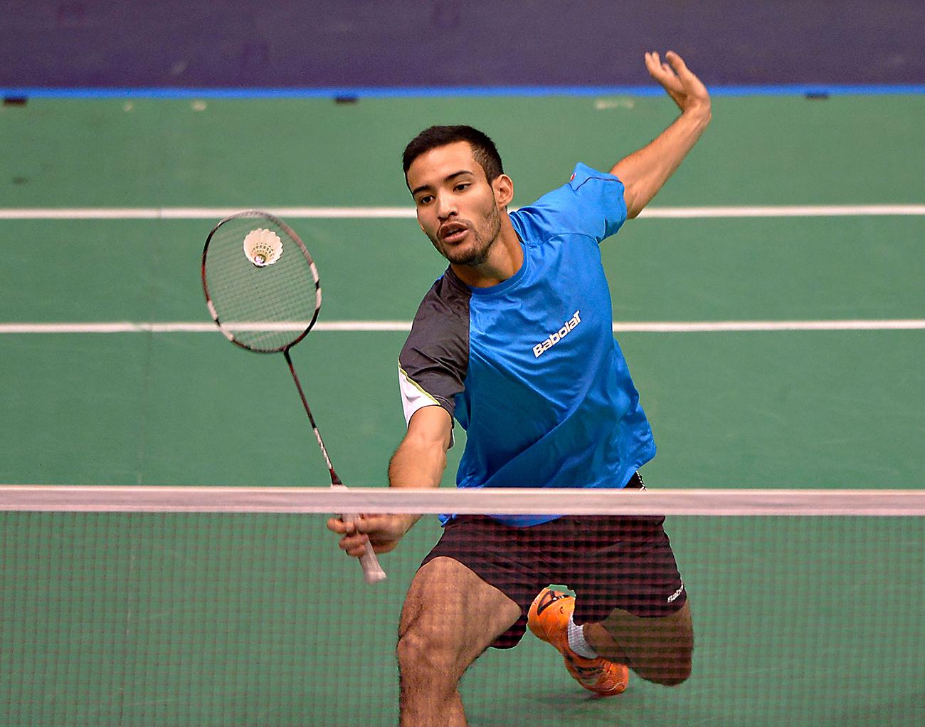 El badmintonista Lino Muñoz afina detalles rumbo a Barranquilla 2018