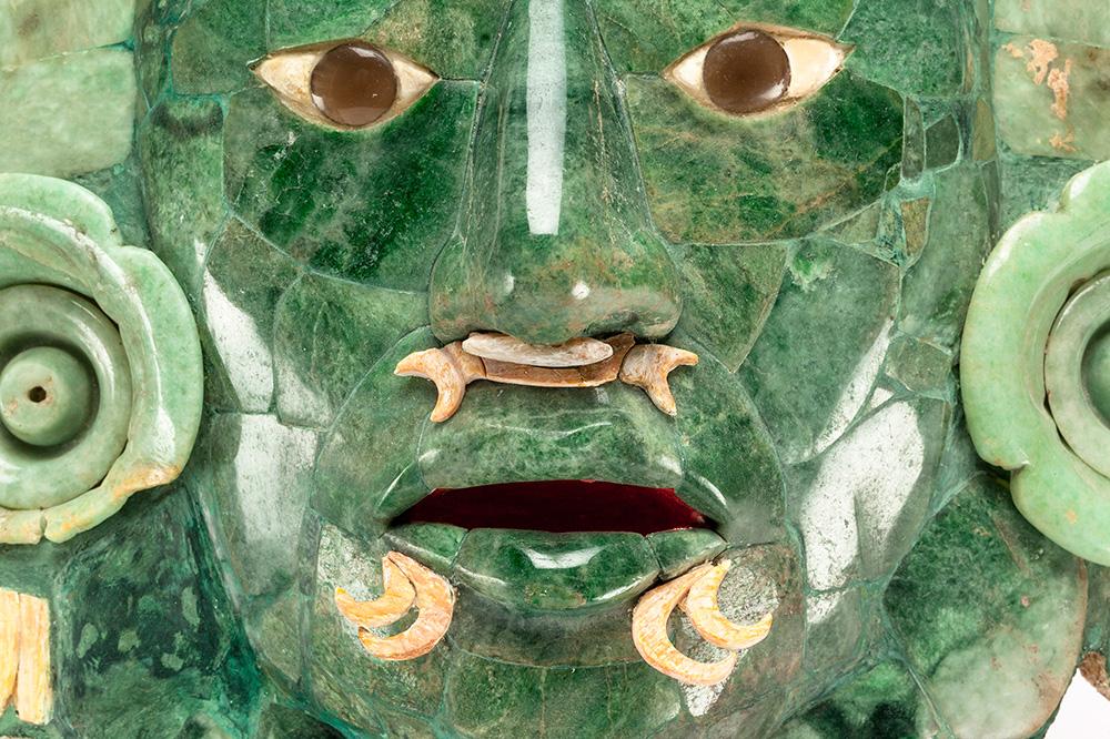 Abrirá INAH nueva sala para la Máscara de Calakmul en el Museo de Arquitectura Maya, en Campeche