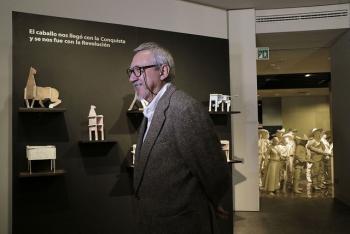 Manuel Marín exhibe su obra escultórica en el Museo Nacional de la Revolución