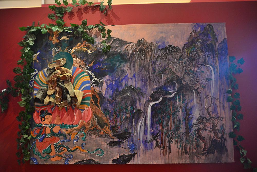 Tres espejos de Corea, en el Museo Nacional de las Culturas del Mundo