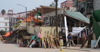 Suspenden demolición en el Colegio Rébsamen