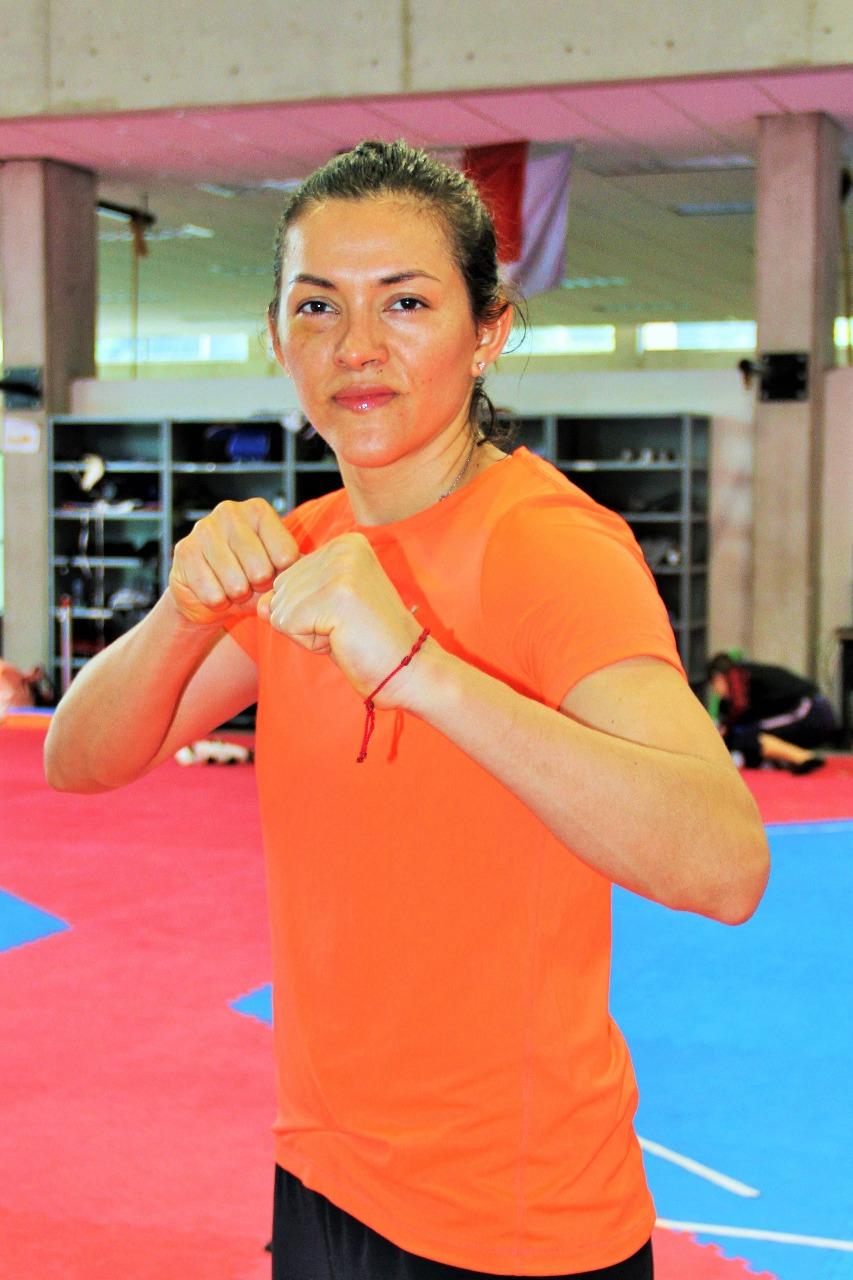 María Espinoza prepara artillería rumbo al Panamericano de Taekwondo USA 2018