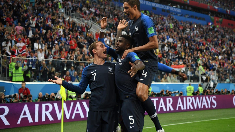 Francia, primer finalista en el Mundial de Rusia 2018