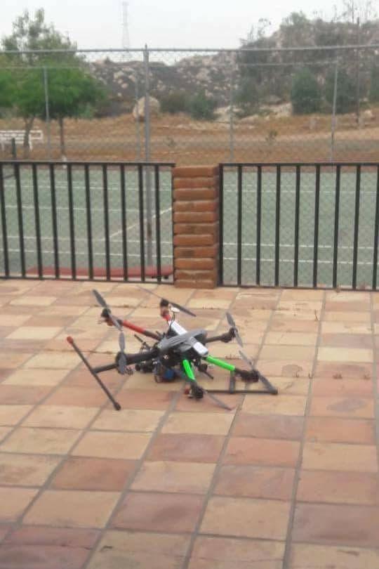 Sorprende caída de dron con granadas en casa de Sosa en BC