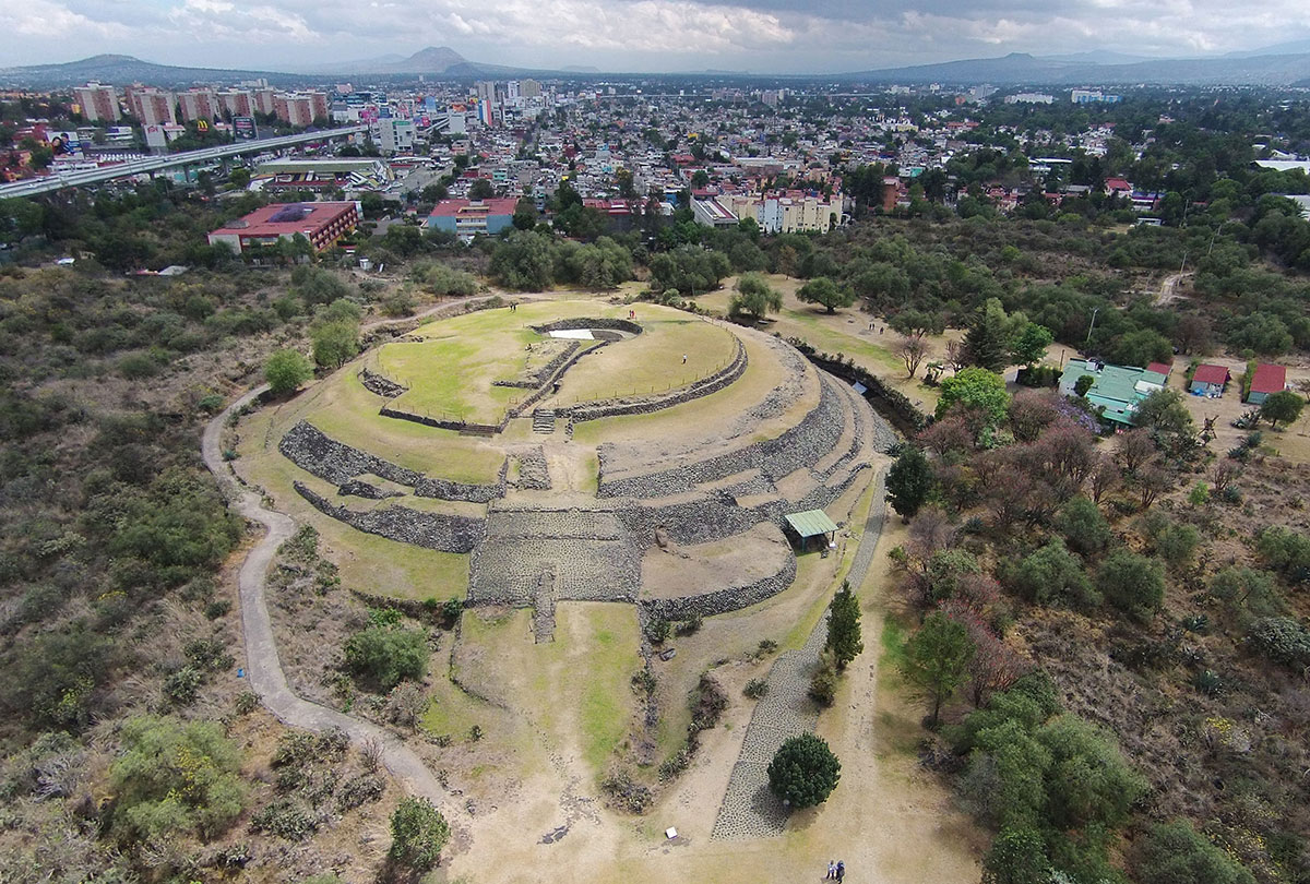 El INAH y la alcaldía Tlalpan colaboran en pro de la ENAH y la Zona Arqueológica de Cuicuilco