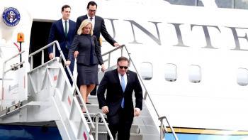 Llega comitiva de Trump a México para reuniones con Peña y AMLO