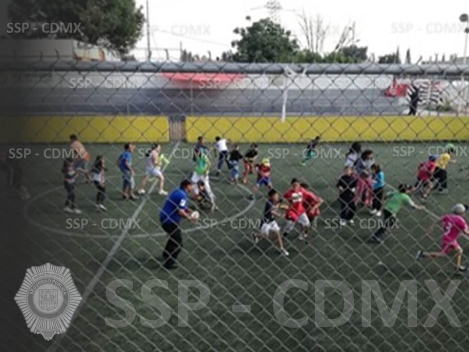 SSP-CDMX INAUGURÁ CURSO DE VERANO 2018 LA PREVENCIÓN TAMBIÉN ES DIVERSIÓN
