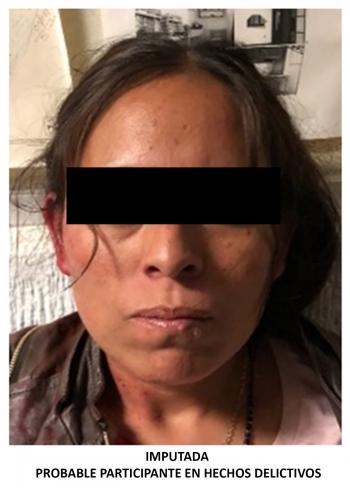La PGJCDMX ejerció acción penal contra una mujer y dos hombres por el delito de robo agravado