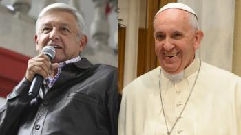 Invita AMLO al Papa Francisco para participar en foros por la paz