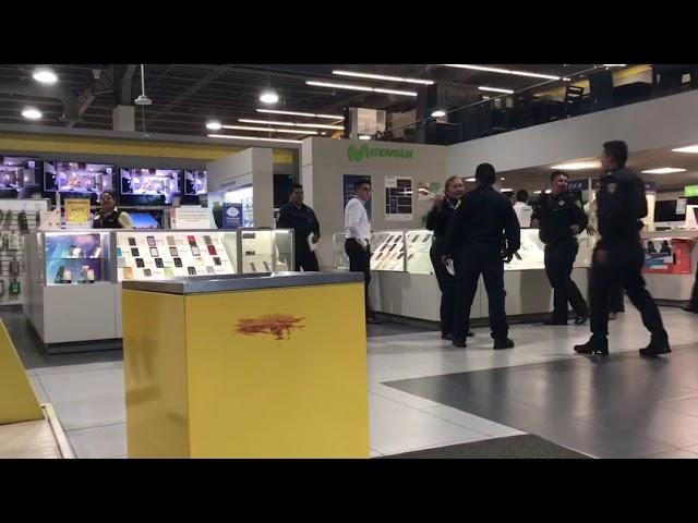 Frustran asalto en tienda Coppel en la Cuauhtémoc