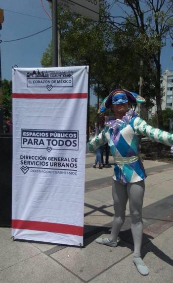 FOMENTAN EL GUSTO POR LAS ARTES EN ESPACIOS PÚBLICOS DE CUAUHTÉMOC