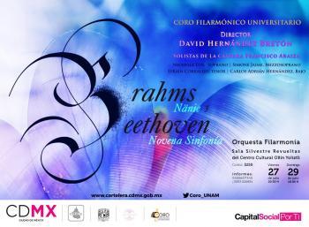 Festejará Coro Filarmónico Universitario su décimo aniversario con presentaciones en la Sala Silvestre Revueltas