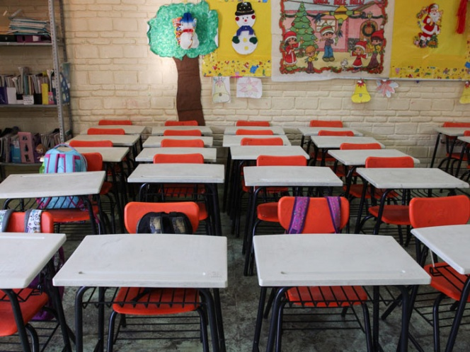 Con donativos del gobierno francés reconstruyen escuela en la GAM