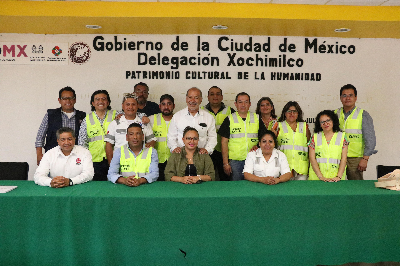 REFUERZAN BRIGADA DE PROTECCIÓN CIVIL DELEGACIONAL