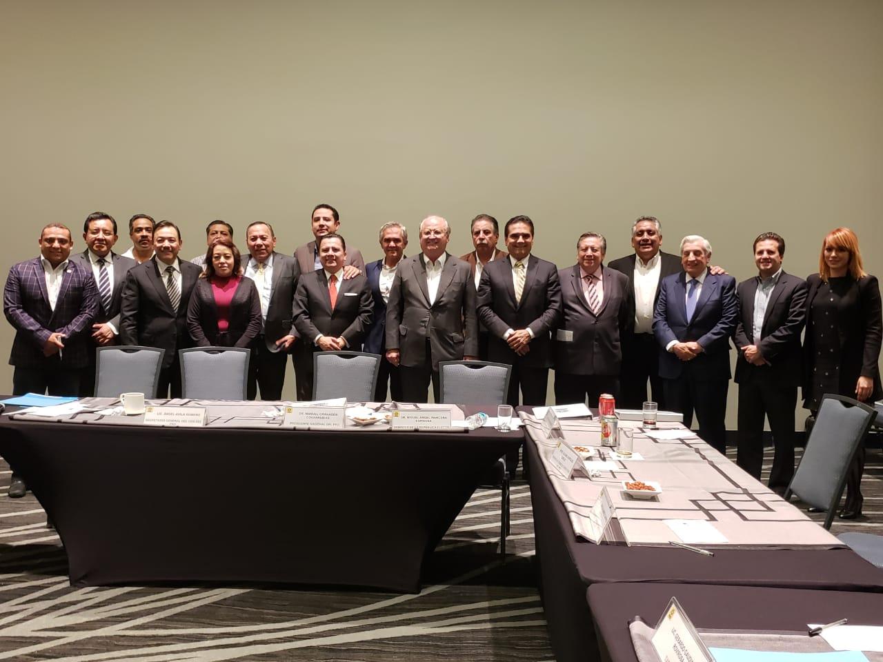 Reunión del Consejo Consultivo del PRD