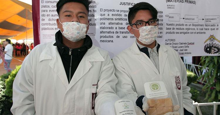 Bioplástico de cáscara de papa se desarrolla en el IPN para abatir contaminación