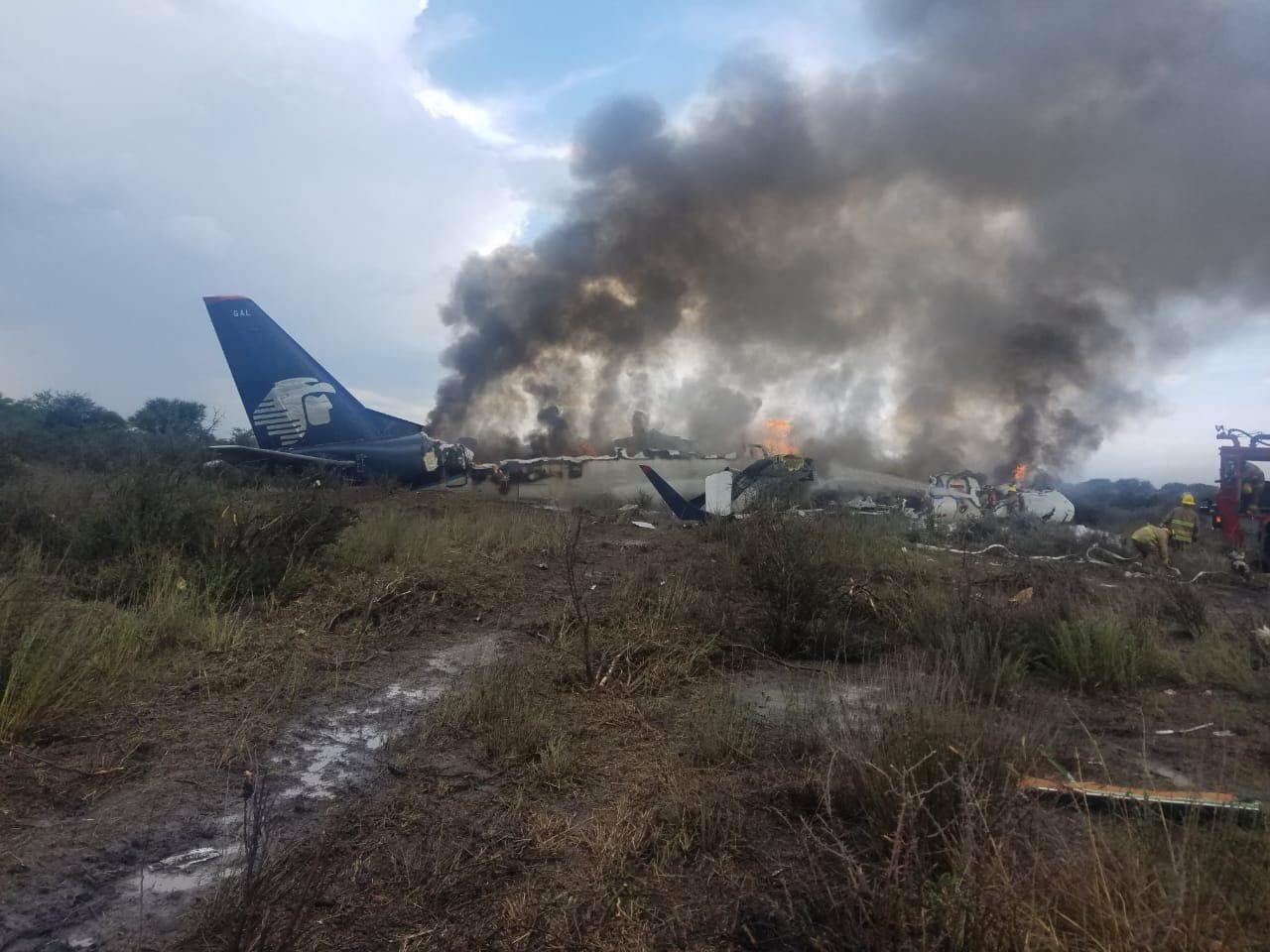 Se desploma aeronave en Durango