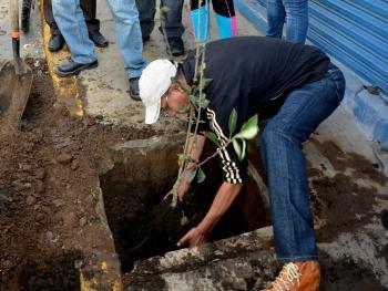 Continua Tlalpan acciones de mejoramiento urbano