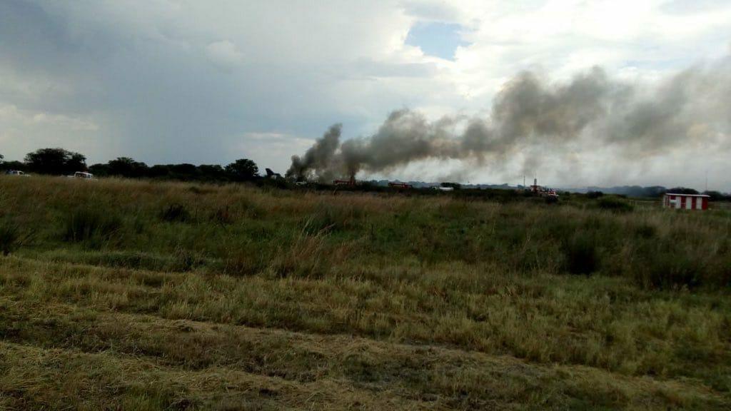 Sobreviven 103 pasajeros tras avionazo en Durango