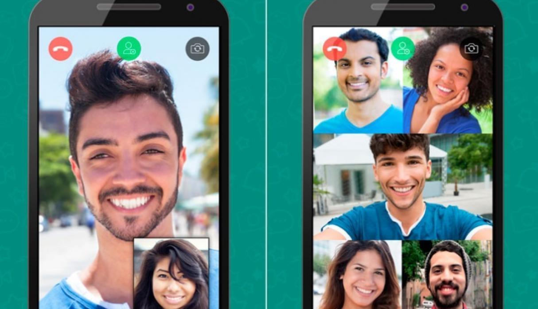Ya puedes realizar llamadas y videollamadas grupales en WhatsApp
