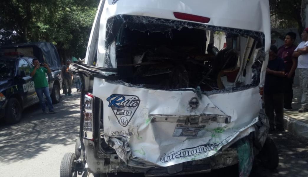 A proceso el chofer responsable del accidente en Topilejo