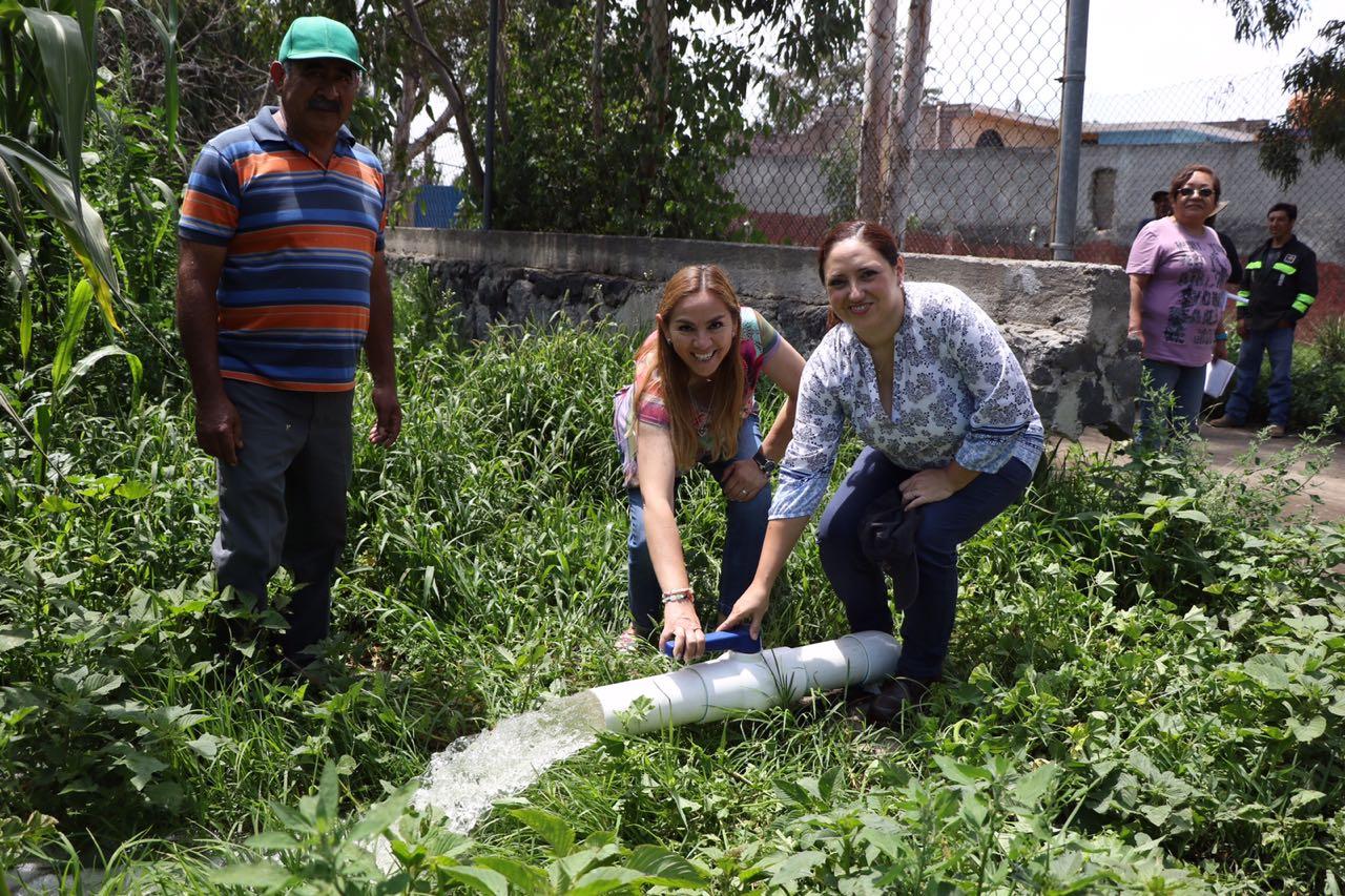 Reactivan SEDEREC y CONAGUA zona productiva de Tláhuac con programa hidroagrícola