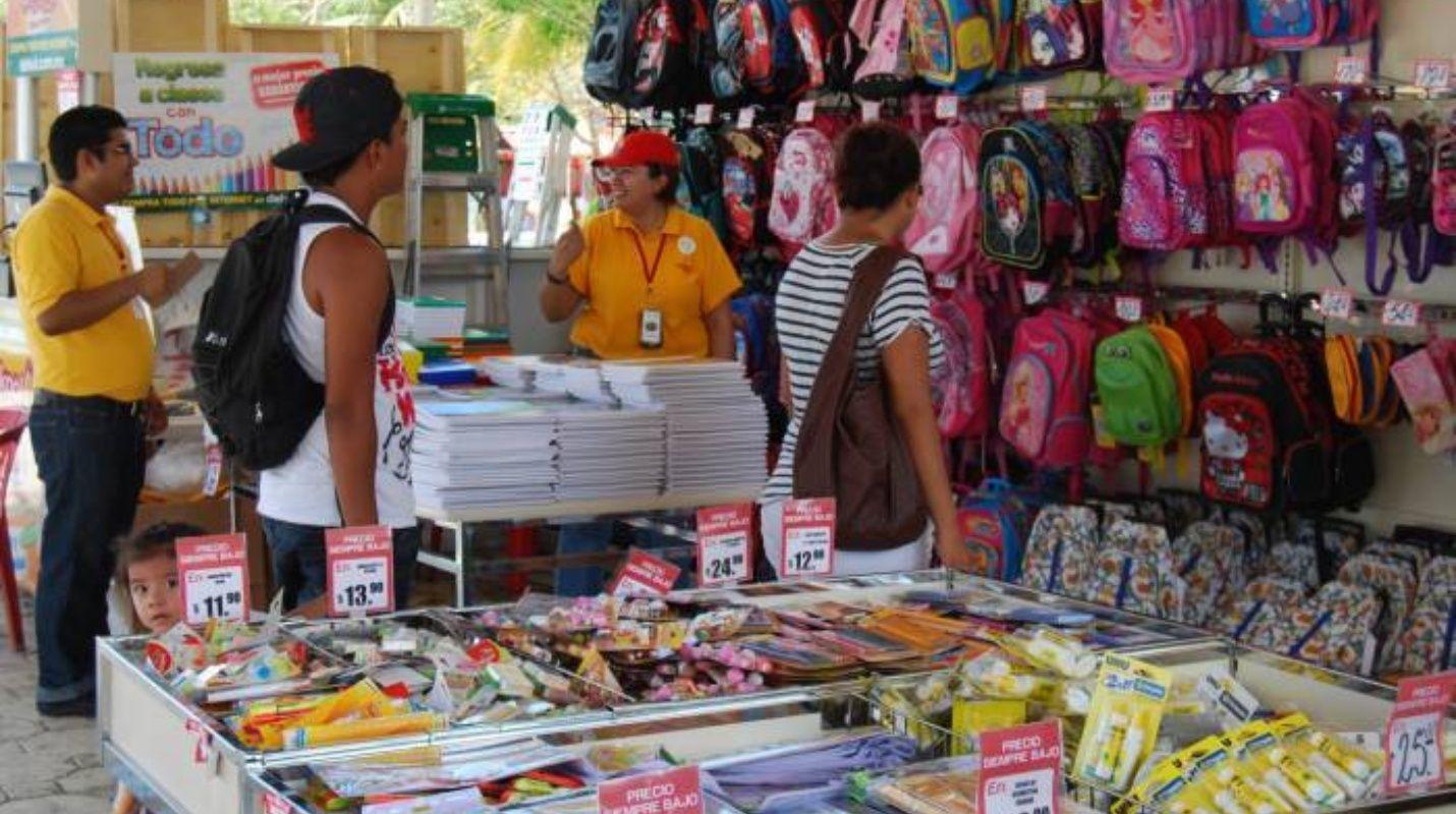 Cientos de comercios favorecidos por regreso a clases