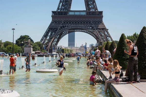 Alertan ola de calor en Francia