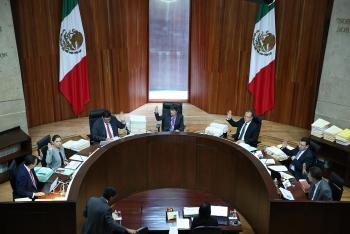 Ordena TEPJF establecer sanciones en contra de Javier Corral y Miguel Ángel Mancera