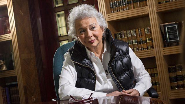Coincidencia, resolución a favor de Esther Gordillo y entrega de constancia de AMLO: Olga Sánchez Cordero