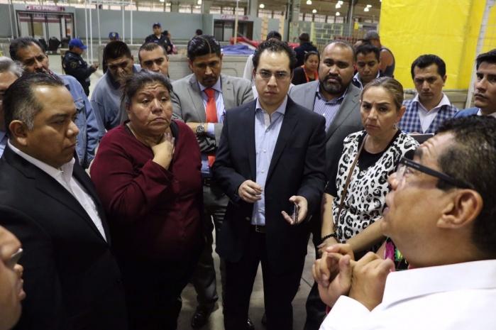 SEDEREC y SEDECO atienden demandas de locatarios de la Merced