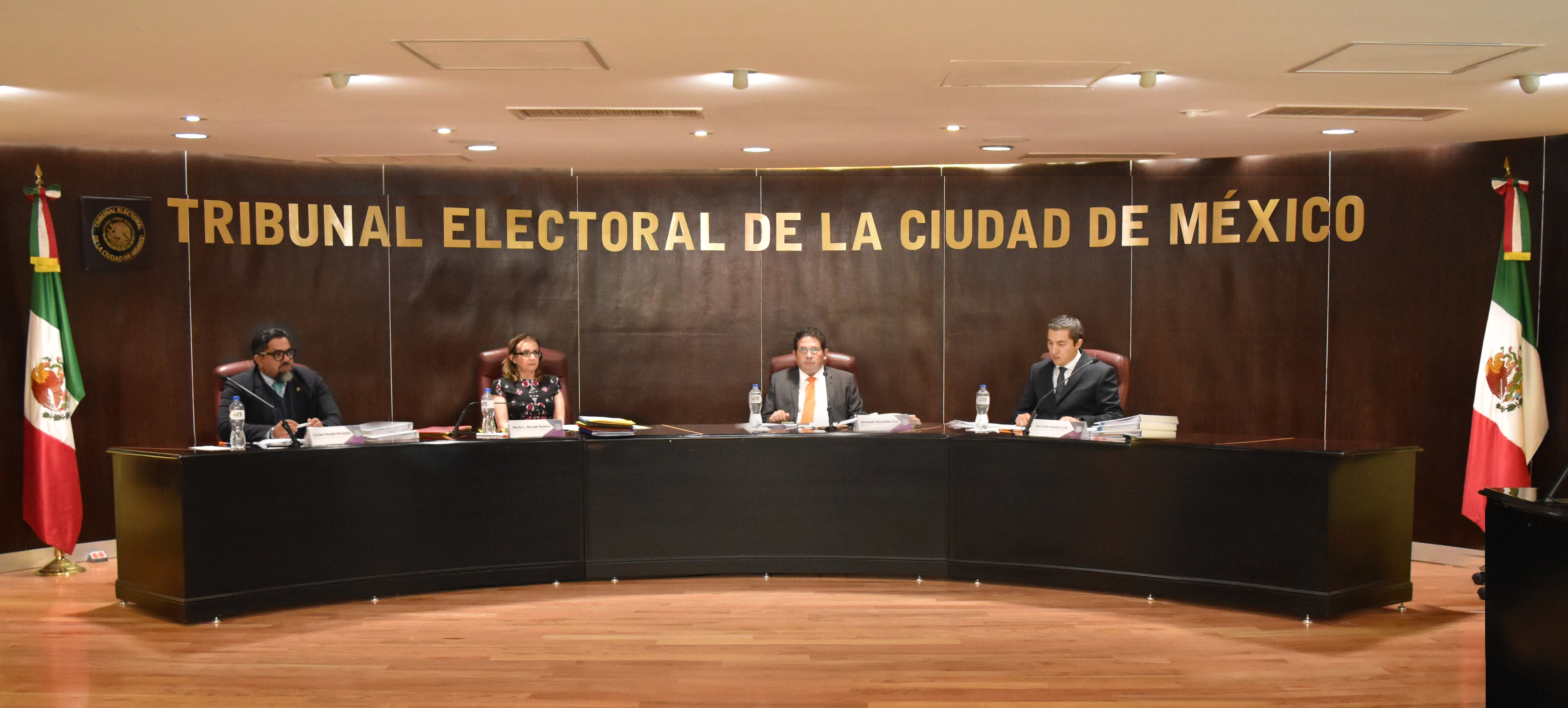 Resuelve el Pleno del TECDMX Procedimientos Especiales Sancionadores promovidos por Mikel Arriola, Morena y Margarita Fisher