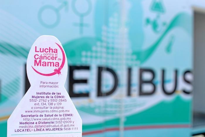 Invita INMUJERES CDMX a realizarse mastografía para detectar a tiempo el cáncer de mama