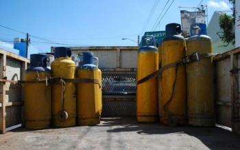 Exige ALDF sustitución de tanques de gas en pésimas condiciones que ponen en peligro la vida de personas