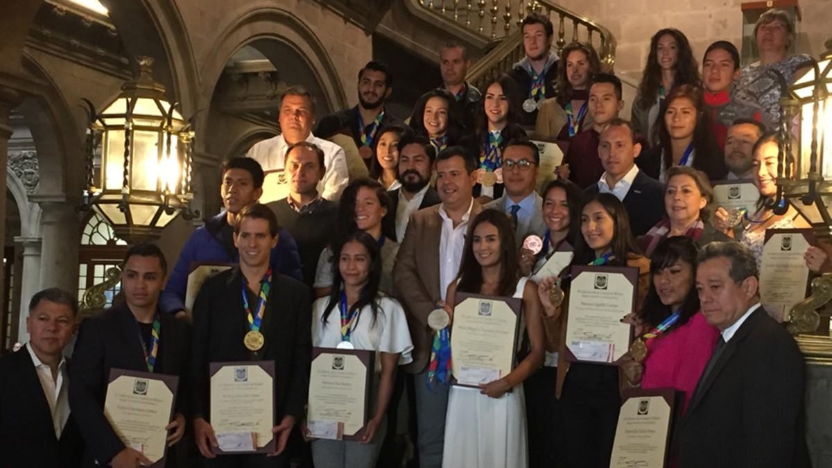 GCDMX premia a los medallistas de los JCC Barranquilla 2018