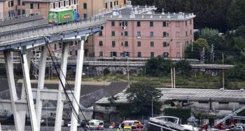 Más de 30 muertos por derrumbe de puente en Italia
