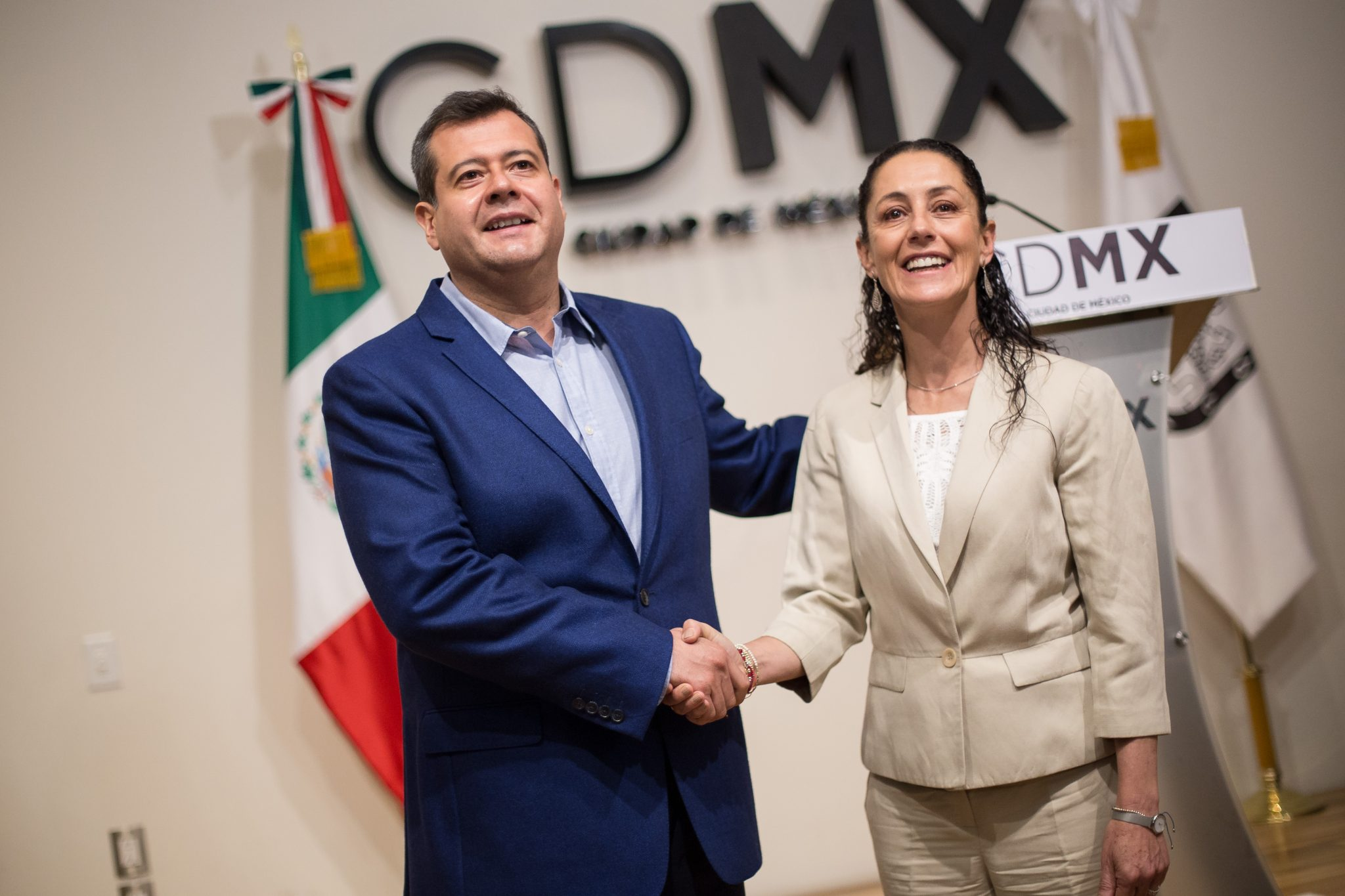 Listo el calendario de reuniones para la transición del gobierno de la Ciudad de México