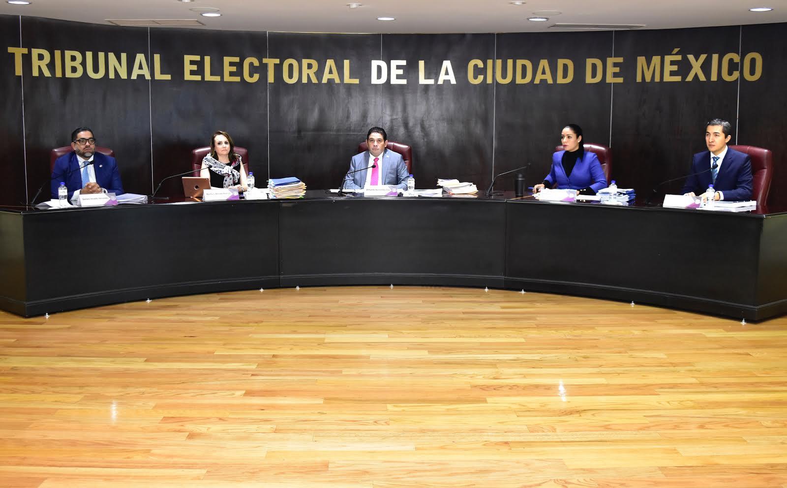 Resuelve TECDMX Procedimientos Sancionadores presentados por Morena, PT, PRD y el IECM