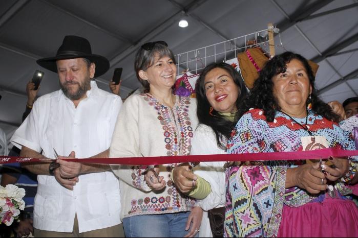 Inauguran la V Fiesta de las Culturas Indígenas, Pueblos y Barrios Originarios de la Ciudad de México 2018