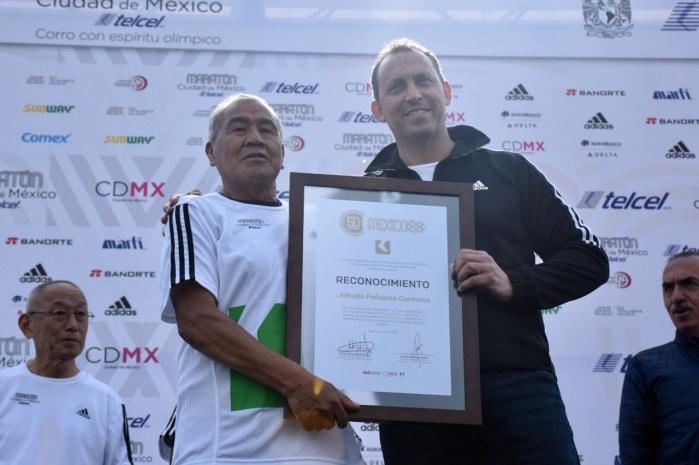 Reconocen a leyendas icónicas de los JO México 68
