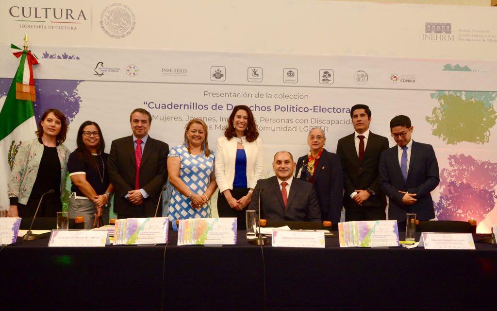 Publica IECM cuadernillos sobre derechos político-electorales de grupos de atención prioritaria