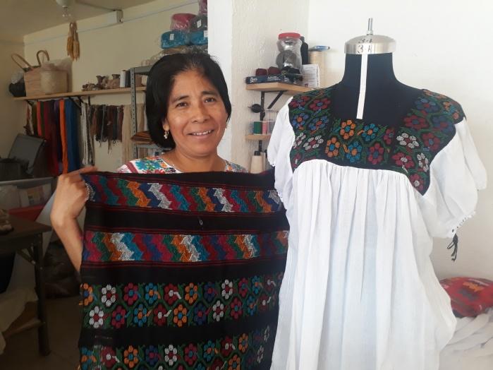 Promueven empoderamiento de mujeres indígenas por medio de trabajos productivos