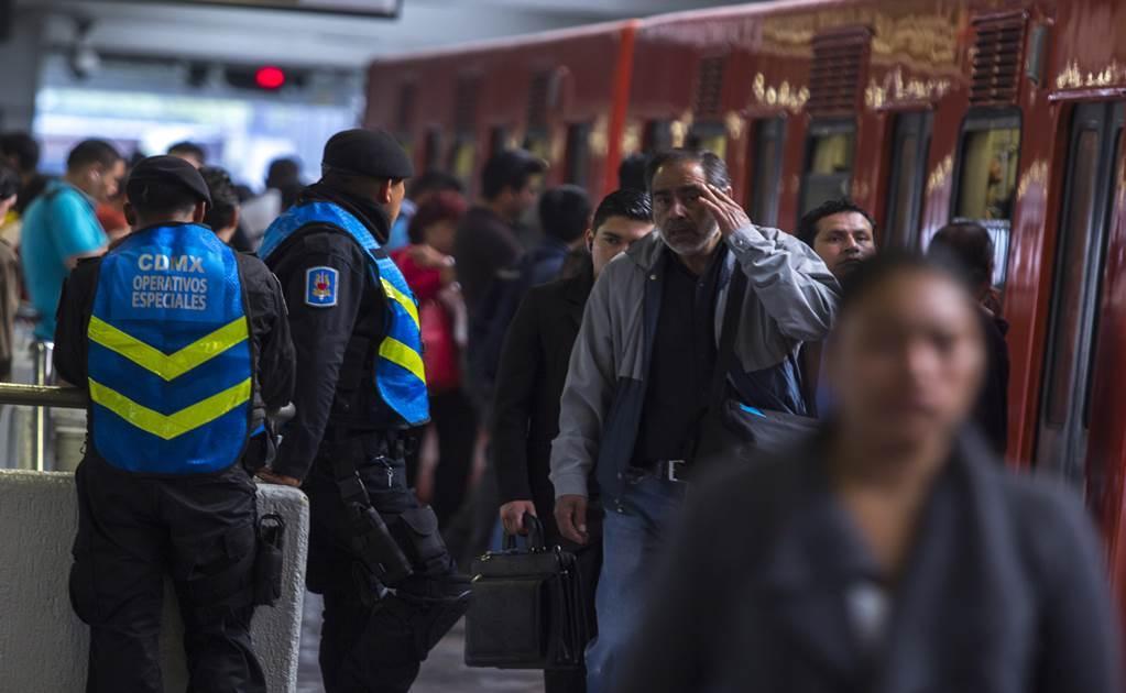 Propone Amieva arresto a vagoneros