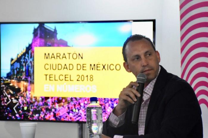 Tiene 27 mil 544 corredores finishers el XXXVI Maratón CDMX Telcel 2018