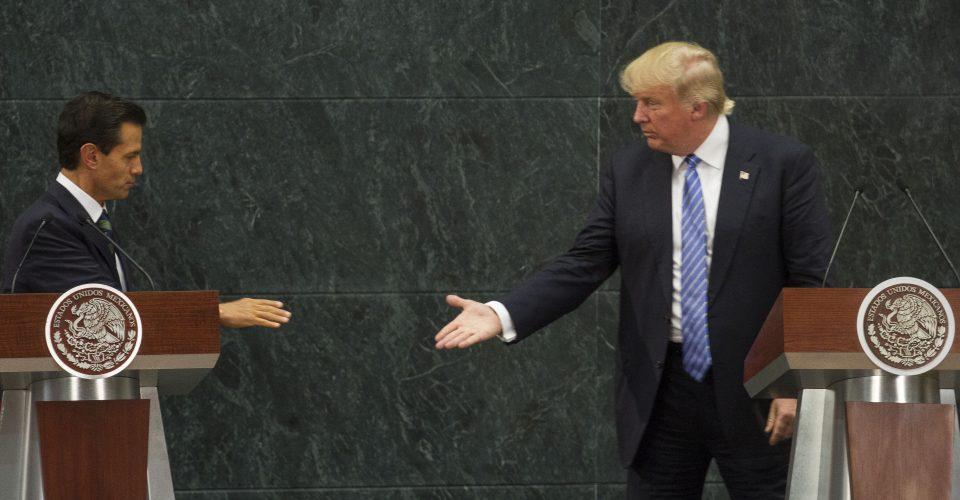 Trump y EPN reconocen acuerdo