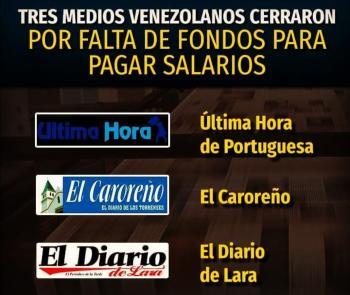 Medios en Venezuela son golpeados por la ola de la crisis