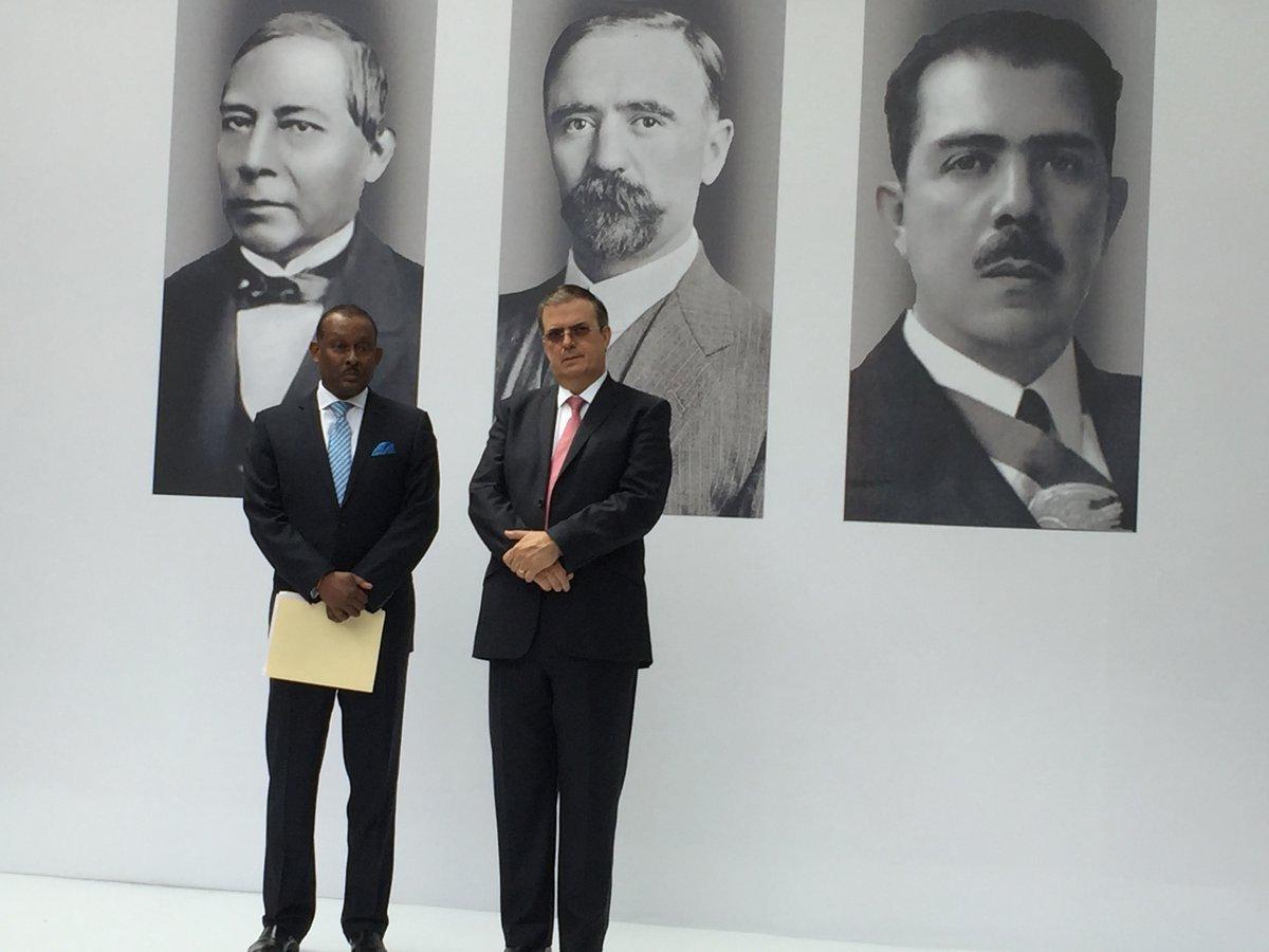 Ebrard: Exitoso el encuentro de AMLO con embajadores de AL y el Caribe