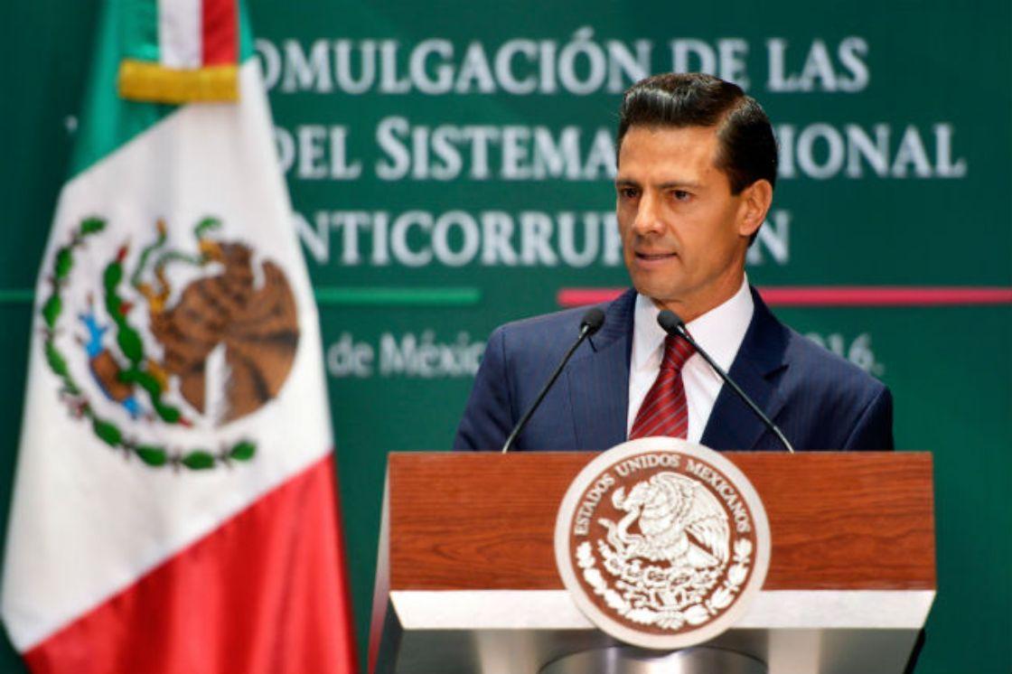 EPN enaltece Sistema Nacional Anticorrupción