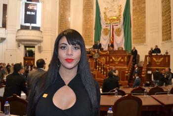 Presupuesto federal de 2019 debe contemplar recursos para modernizar y sustituir red hidráulica de la CDMX: dip Janet Hernández Sotelo